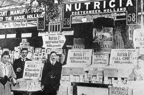 Nutrician ensimmäinen diabeetikoille tarkoitettu kliininen ravintovalmiste vuonna 1905