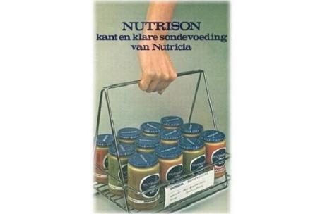 Nutrison letkuravintovalmiste vuonna 1970