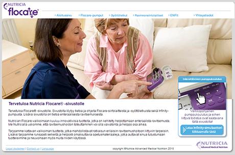 flocare.fi verkkosivut