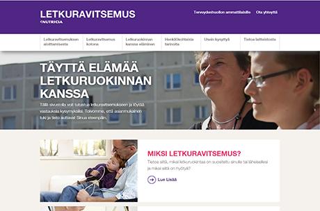 lekturavitsemus.fi verkkosivut