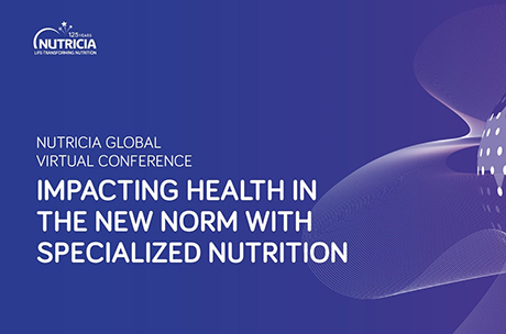 """Nutricia Global Virtual Conference 21.5.2021 """"Impacting health in the new norm with specialized nutrition"""""""